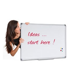 Whiteboards / pinboards